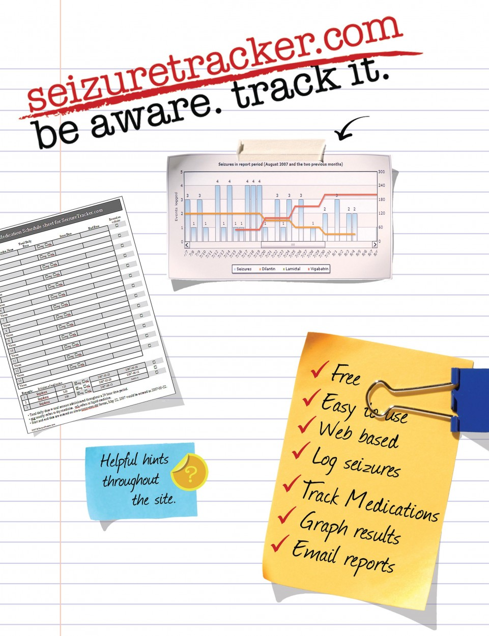 Seizure Tracker App for Special Needs Families