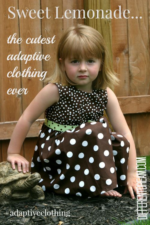 Are you looking for cute adaptive clothing for a child with special needs? Sweet Lemonade's website could end your search.