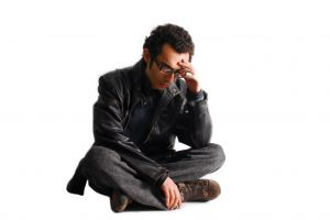 1000622 worried man against white background Guest Blogger April Brownlee says, Its Okay to Grieve