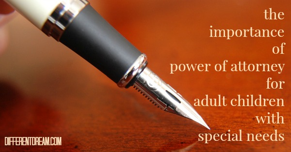 Special Needs Power of Attorney & Medical Authorizations