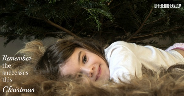 Guest blogger Becky Hallberg suggests parents of kids with special needs make the Christmas season more manageable by counting just the successes.