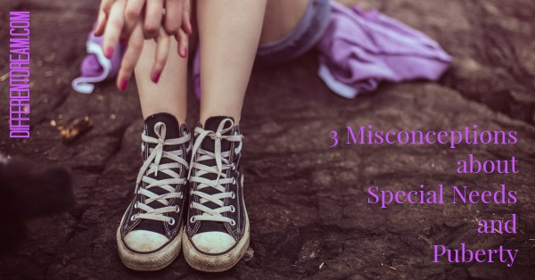 Special Needs and Puberty: Dealing with Misconceptions