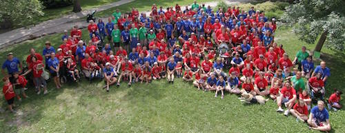 The 2 special needs family camps I participated in this summer may have been half a world away from each other, but they were the best ever!