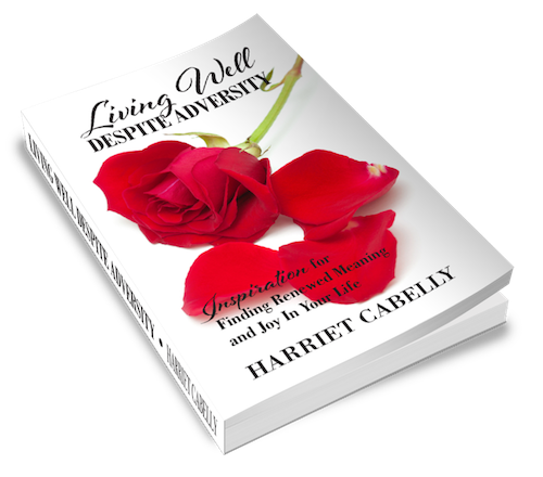 Author Harriet Cabelly is at Different Dream for an interview about Living Well With Adversity, her book for caregivers and parents of loved ones with special needs.