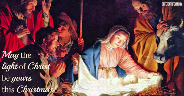 May the Light of Christ Be Yours this Christmas