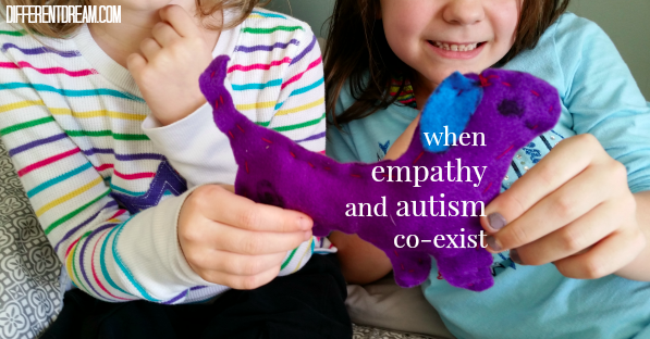 Can empathy and autism co-exist within a child? Amy Felix's recounting of the empathy her daughter showed to a sibling shows that they can. And they do.