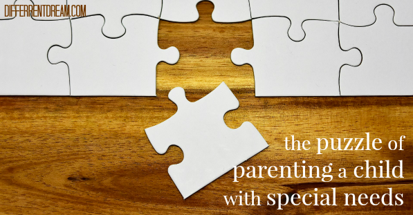 The Puzzle of Parenting a Child with Special Needs