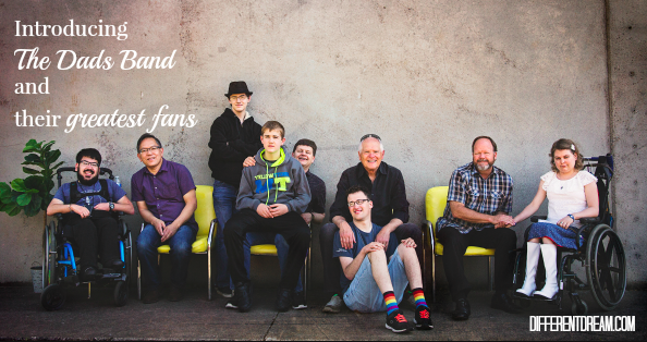 The Dads Band is comprised of 4 musicians who are also dads of kids with special needs. Learn about their new CD, The Waiting Room, and a drawing to win a copy.