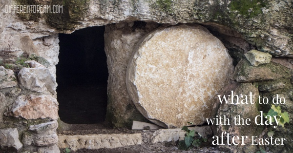 The day after Easter can be a struggle for parents raising kids with special needs, just as it was for the disciples. Their story provides practical advice about how to handle the day after Easter.