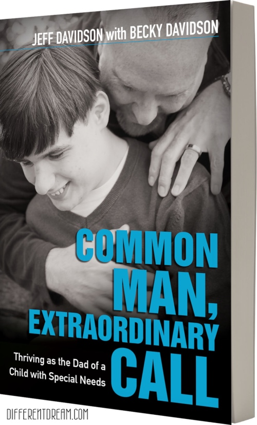 Common Man, Extraordinary Call is a must read for parents, especially dads, of children with special needs and disabilities. Author Becky Davidson tells how the book came into being.