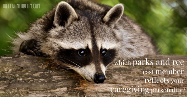 Special needs caregivers, join the fun and leave a comment about which Parks and Recreation cast member most closely resembles your caregiving style.