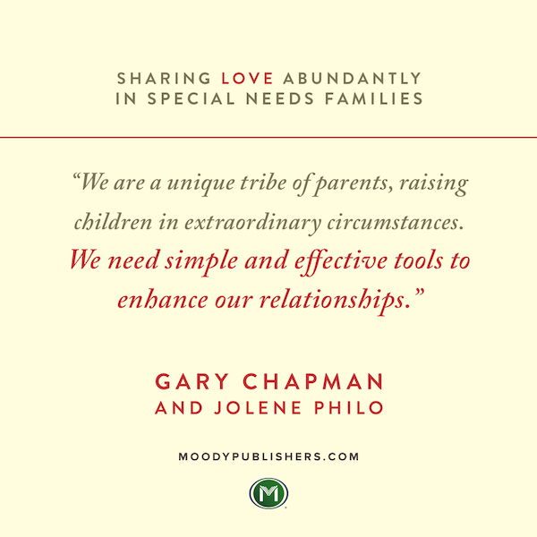 Sharing Love Abundantly in Special Needs Families Is Here!