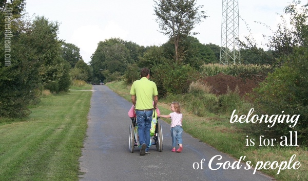 Shelly Christensen believes that belonging is the heartbeat of inclusion, and she examines biblical truths that prove the rightness of disability inclusion.